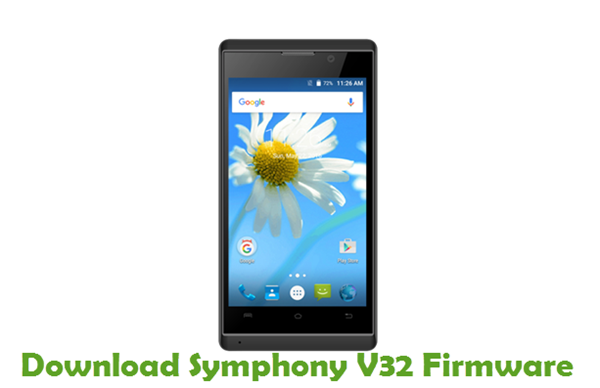 Download Symphony V32 Stock ROM