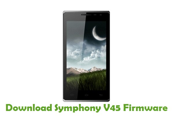 Download Symphony V45 Stock ROM