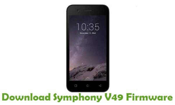 Download Symphony V49 Stock ROM