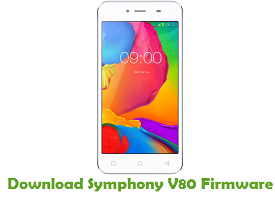 Download Symphony V80 Stock ROM