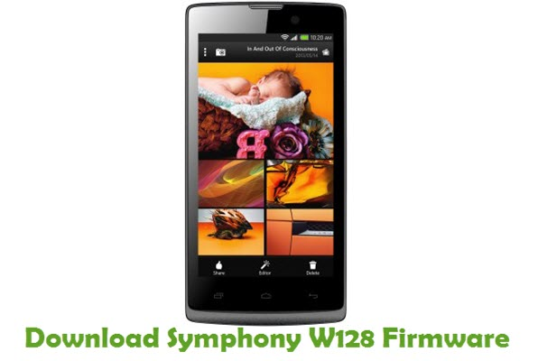Download Symphony W128 Stock ROM