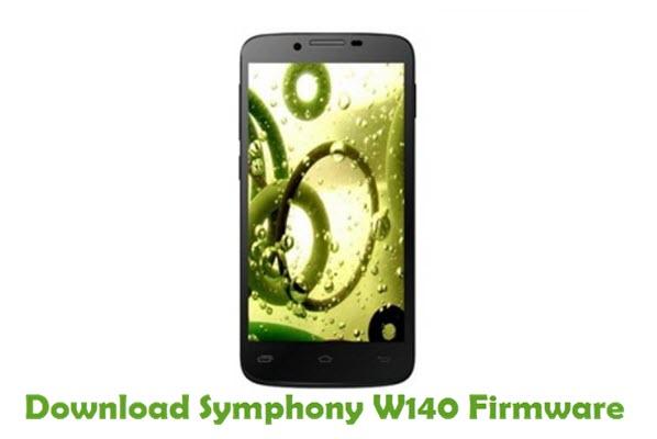 Download Symphony W140 Stock ROM