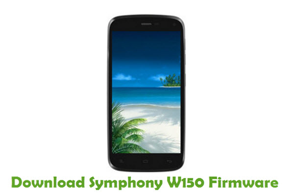Download Symphony W150 Stock ROM