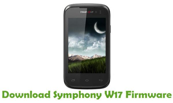 Download Symphony W17 Stock ROM