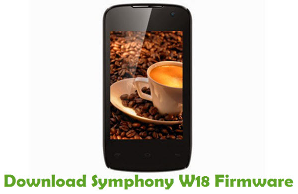 Download Symphony W18 Firmware