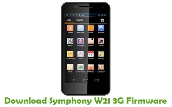 Download Symphony W21 3G Stock ROM
