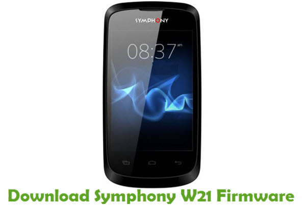 Download Symphony W21 Firmware