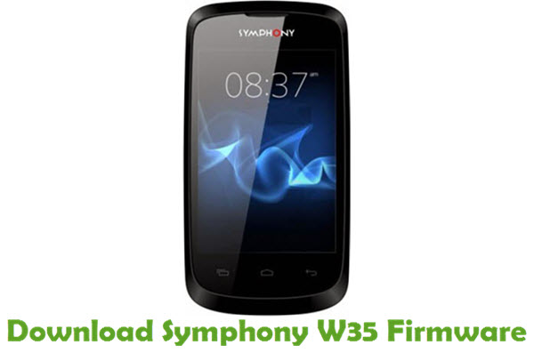 Download Symphony W35 Firmware