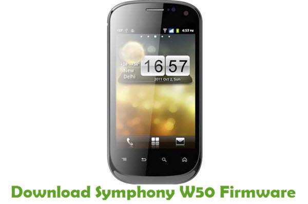 Download Symphony W50 Firmware