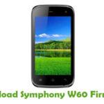 Symphony W60 Firmware