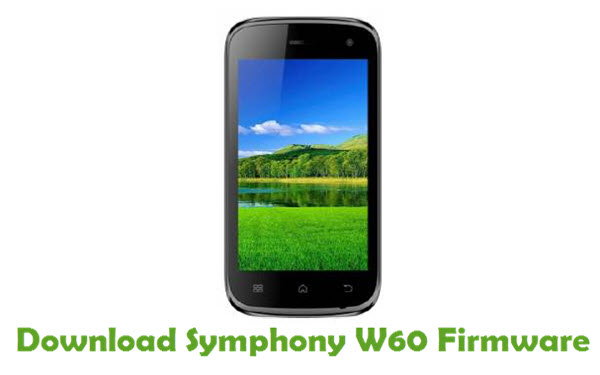Download Symphony W60 Firmware