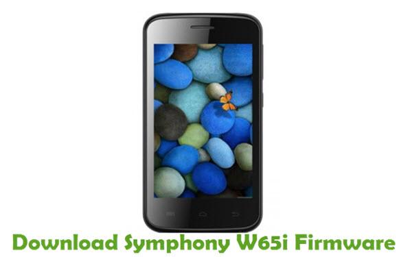 Download Symphony W65i Stock ROM