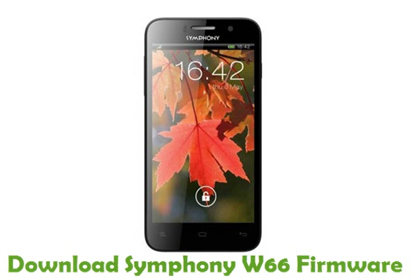 Download Symphony W66 Stock ROM
