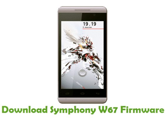Download Symphony W67 Firmware
