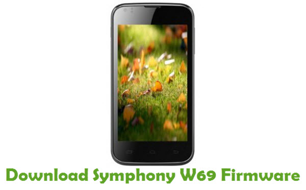 Download Symphony W69 Stock ROM