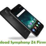 Symphony Z4 Firmware