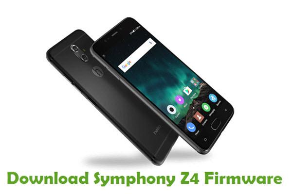 Download Symphony Z4 Stock ROM
