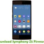 Symphony Z5 Firmware
