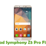 Symphony Z5 Pro Firmware