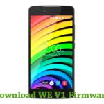 WE V1 Firmware