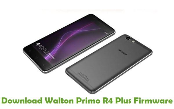 Download Walton Primo R4 Firmware - Stock ROM Files