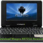 Wespro NS721A Firmware