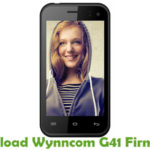 Wynncom G41 Firmware