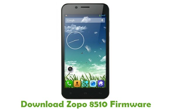 Download Zopo 8510 Stock ROM