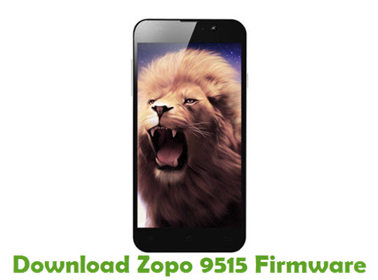 Download Zopo 9515 Stock ROM