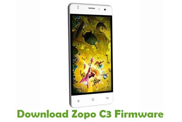 Download Zopo C3 Stock ROM
