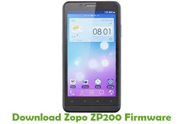 Download Zopo ZP200 Stock ROM