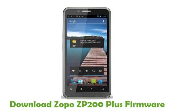 Download Zopo ZP200 Plus Stock ROM