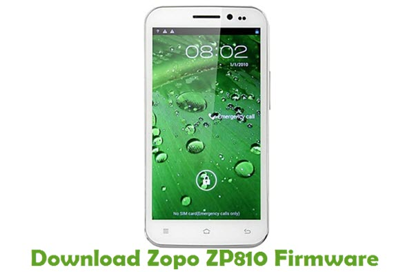 Download Zopo ZP810 Stock ROM
