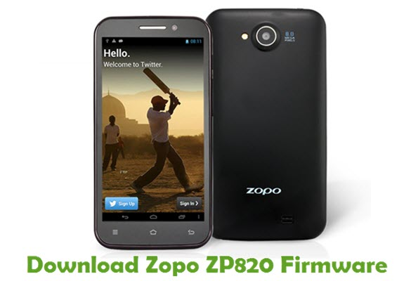 Download Zopo ZP820 Stock ROM