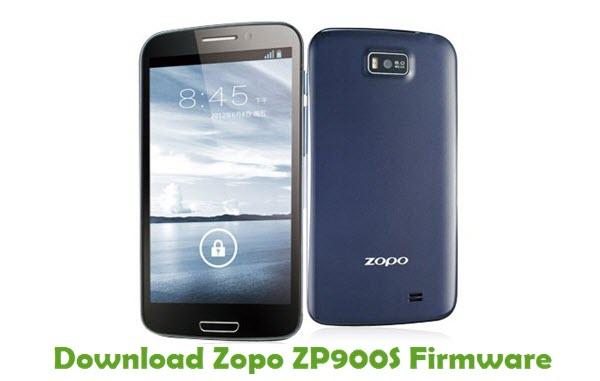 Download Zopo ZP900S Stock ROM