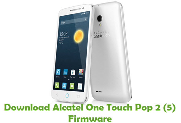 the alcatel one touch pop 2 5 Changes:-