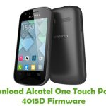 Alcatel One Touch Pop C1 4015D Firmware