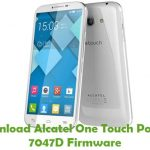 Alcatel One Touch Pop C9 7047D Firmware