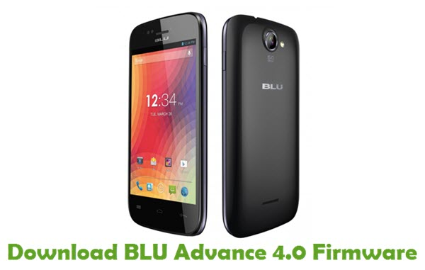 Download BLU Advance 4.0 Firmware