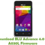 BLU Advance 4.0 L2 A030L Firmware