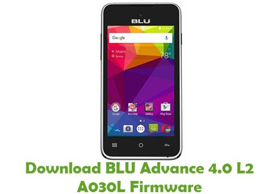 Download BLU Advance 4.0 L2 A030L Firmware