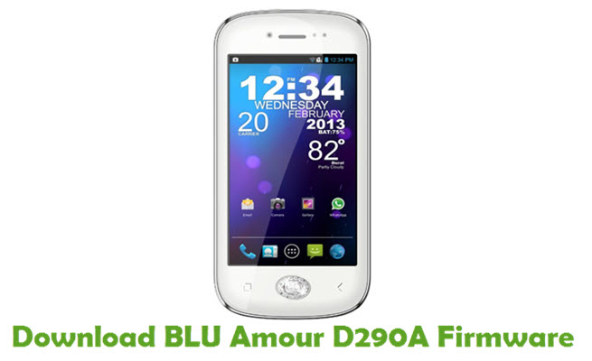 Download BLU Amour D290A Firmware