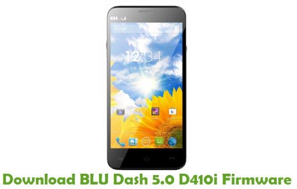 Download BLU Dash 5.0 D410i Firmware