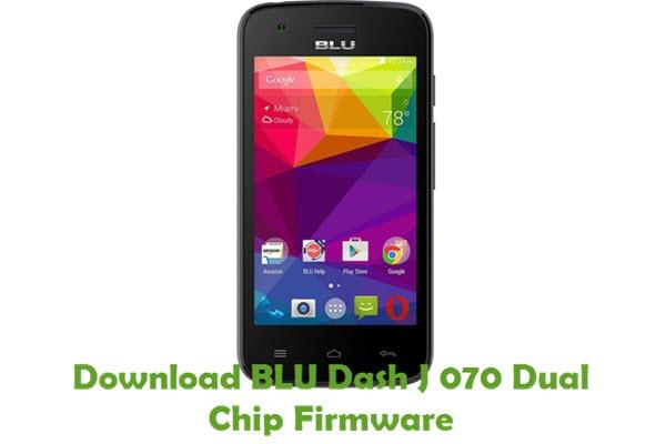 Download BLU Dash J 070 Dual Chip Firmware