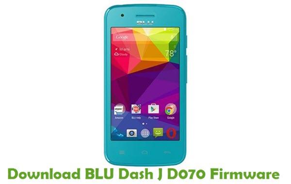 Download BLU Dash J D070 Firmware
