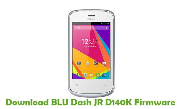 Download BLU Dash JR D140K Firmware