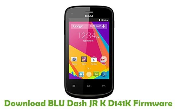 Download BLU Dash JR K D141K Firmware