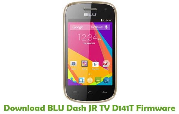 Download BLU Dash JR TV D141T Firmware