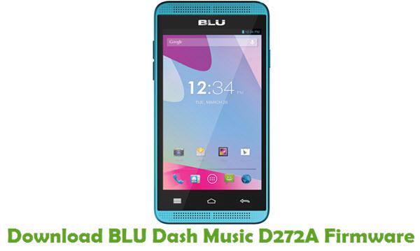 Download BLU Dash Music D272A Firmware