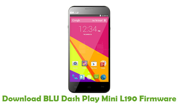 Download BLU Dash Play Mini L190 Firmware